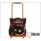 FUXTEC Generador Electrico SG7500B FX con conexión a 380V y motor arranque eléctrico